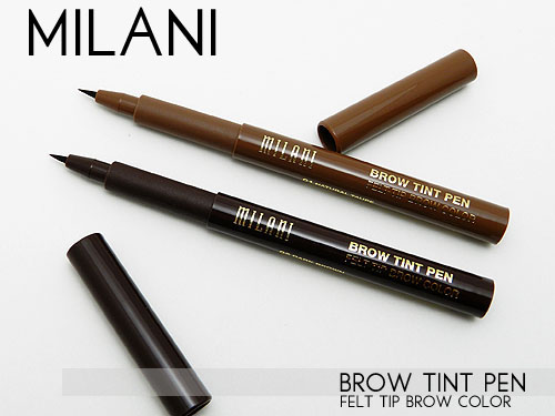milani brow tint pen review