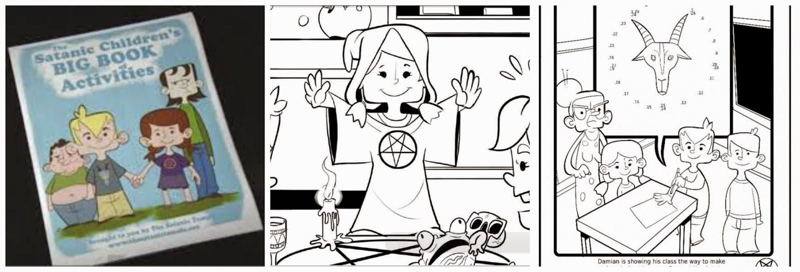Catolicidad: ¡INSÓLITO! PROPAGAN EL ESTUDIO DEL SATANISMO PARA NIÑOS ...