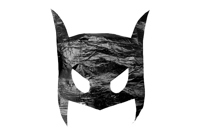 easy batman mask template diy
