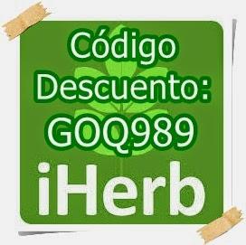 Descuentos Iherb.com: 5$ si gastas menos de 40$ y 10$ a partir de 40$ de compra