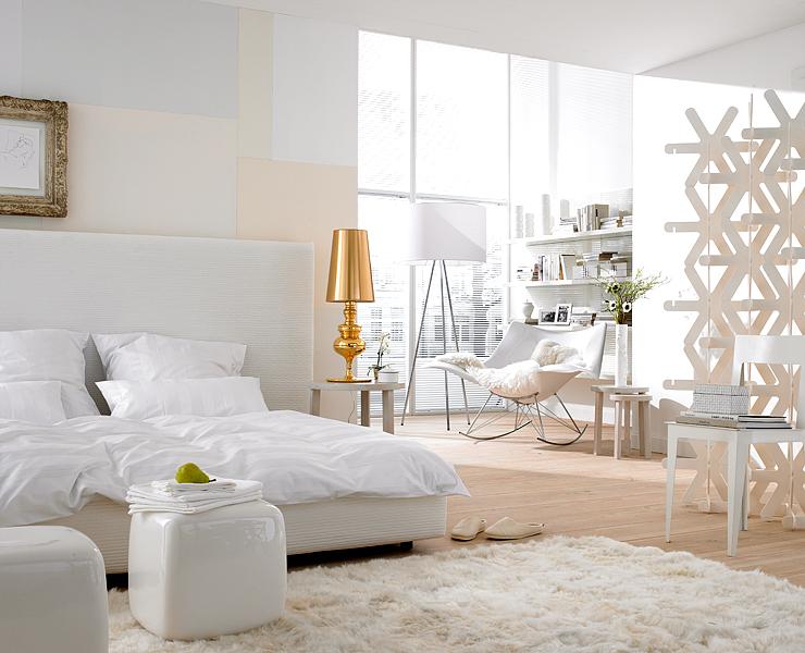 Dormitorios color blanco ideas para decorar dormitorios for Dormitorios color blanco