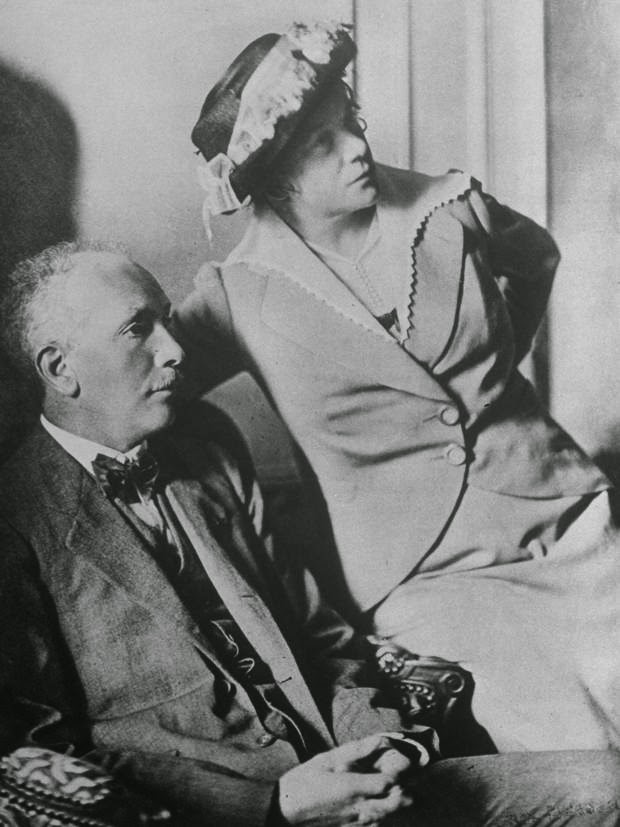 Richard and Pauline Strauss