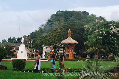 rizal park dapitan plaza zamboanga del norte