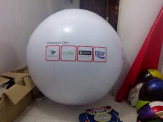balon bulat besar
