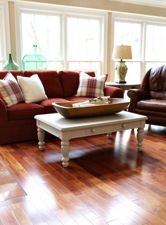 Savvy Southern Style Bare Floors