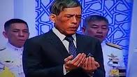 GEMPAR !! Raja baru Thailand membaca selawat Nabi
