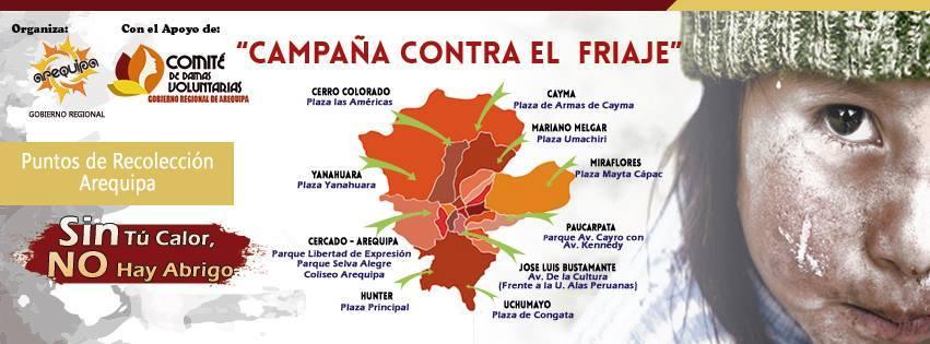 INSTITUCIONES EDUCATIVAS DE LA UGEL SUR DONARAN PRENDAS PARA NIÑOS Y JÓVENES DE ZONAS ALTOANDINAS