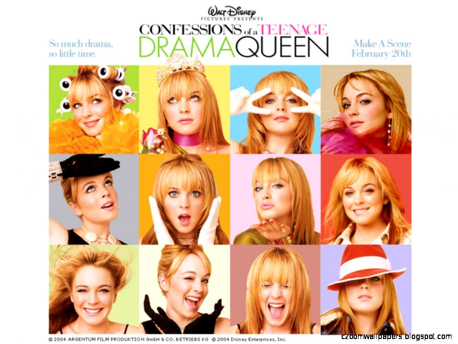 Confessions of a Teenage Drama Queen Wallpaper   10005495