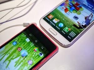 Samsung galaxy S4 VS Sony Xperia Z1 compact