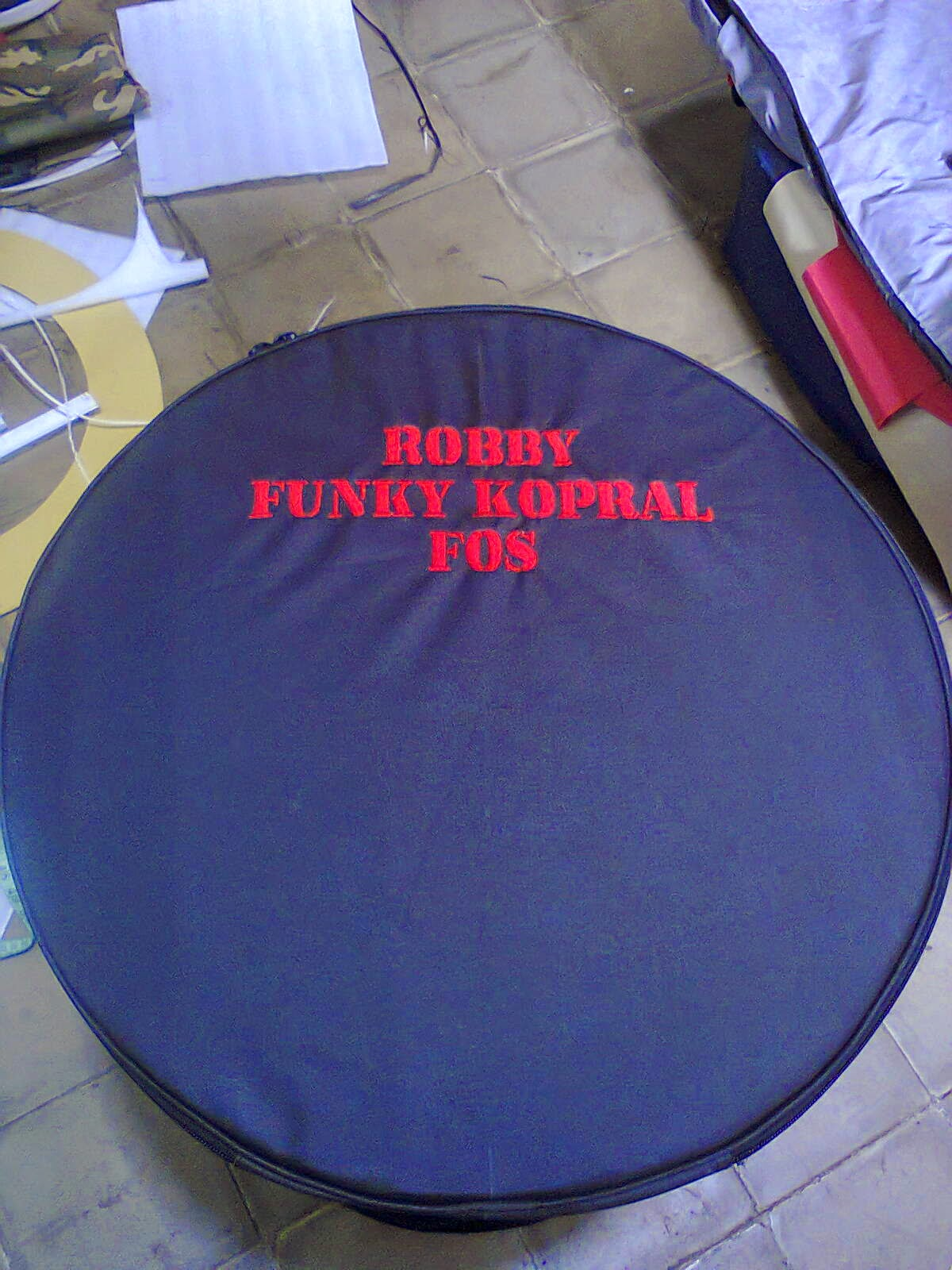 Softcase Bass Drum Custom Ringan Murah