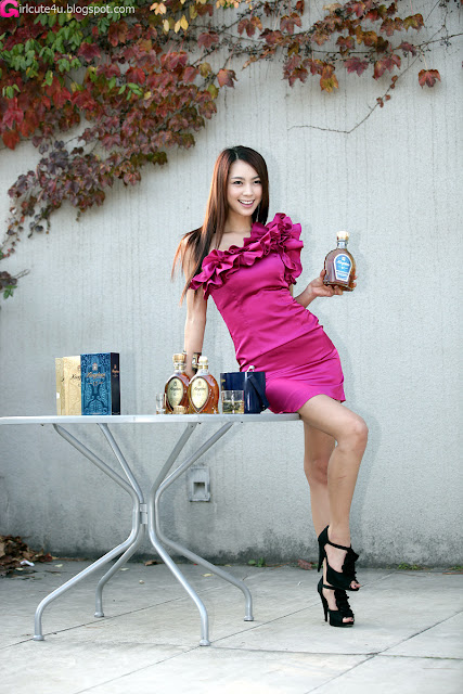 6 Ju Da Ha for Kingdom Whisky-very cute asian girl-girlcute4u.blogspot.com