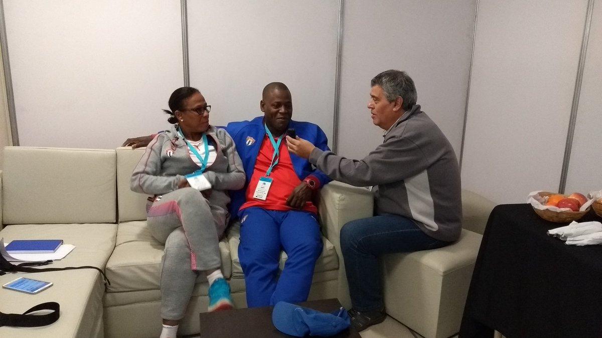 Rubén Di Liddo en el Congreso del Deporte Adaptado 2017
