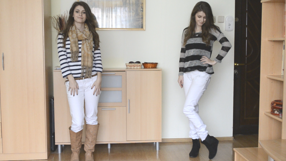 Cappuccino and Fashion: How I Style: White Pants