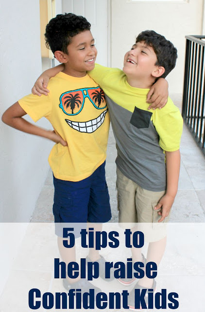 5 Tips to Help Raise Confident Kids #ConfidentKids #ad
