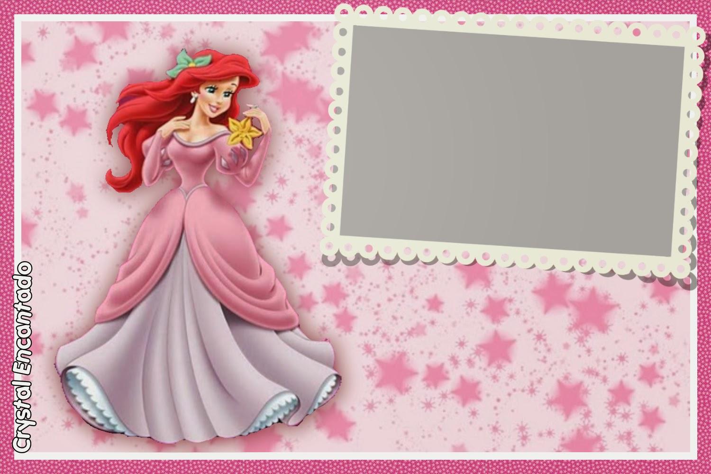 moldura Princesa Ariel