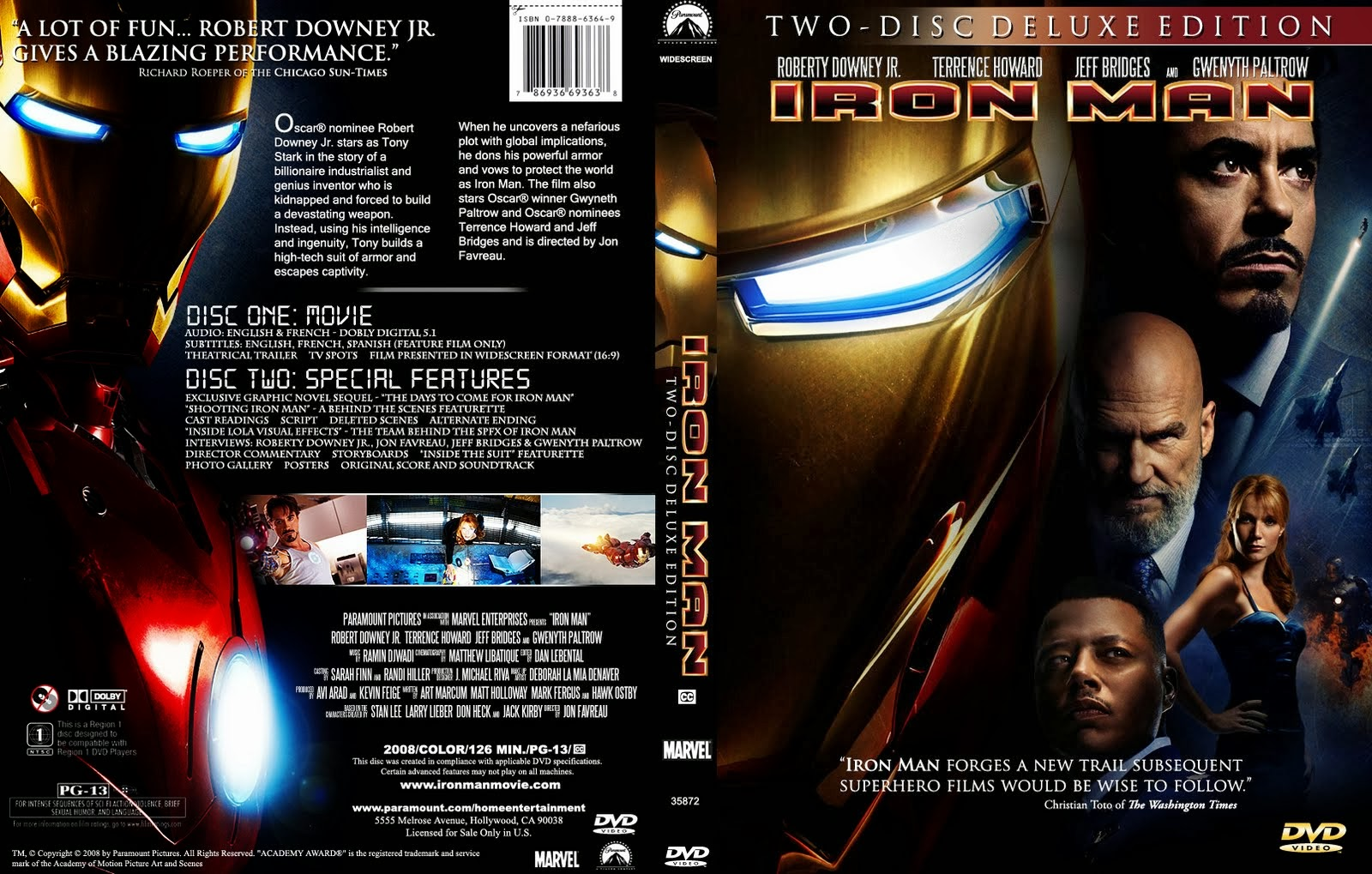 Iron Man Hdrip Castellano 2008