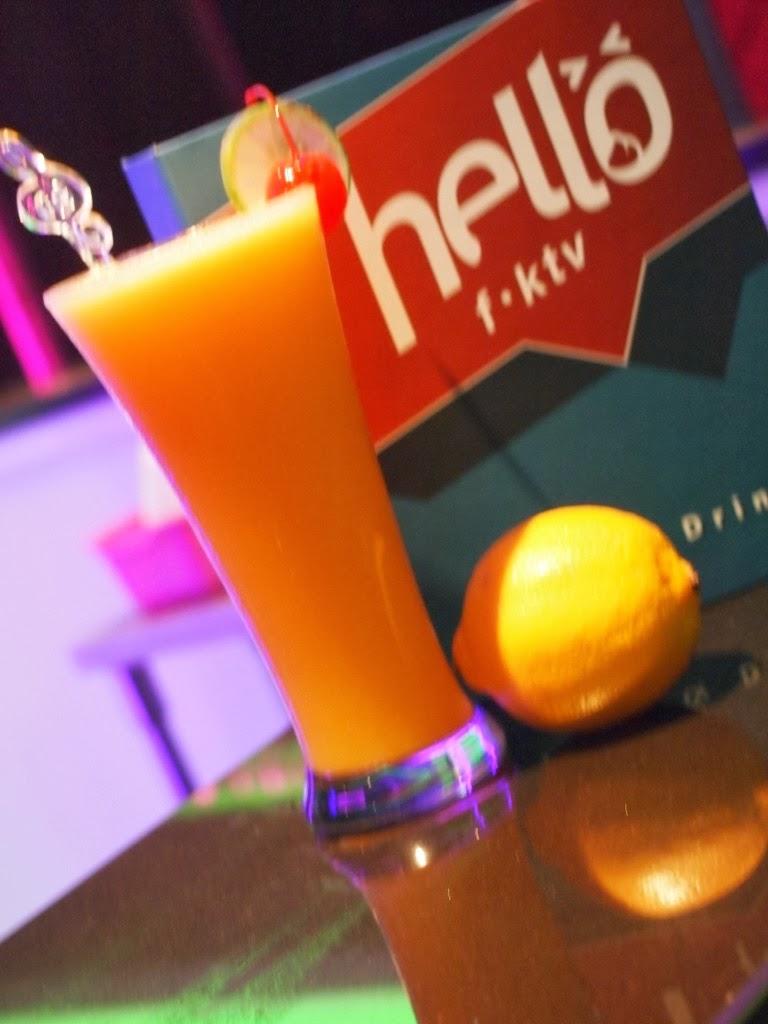 minuman jus tempat karaoke