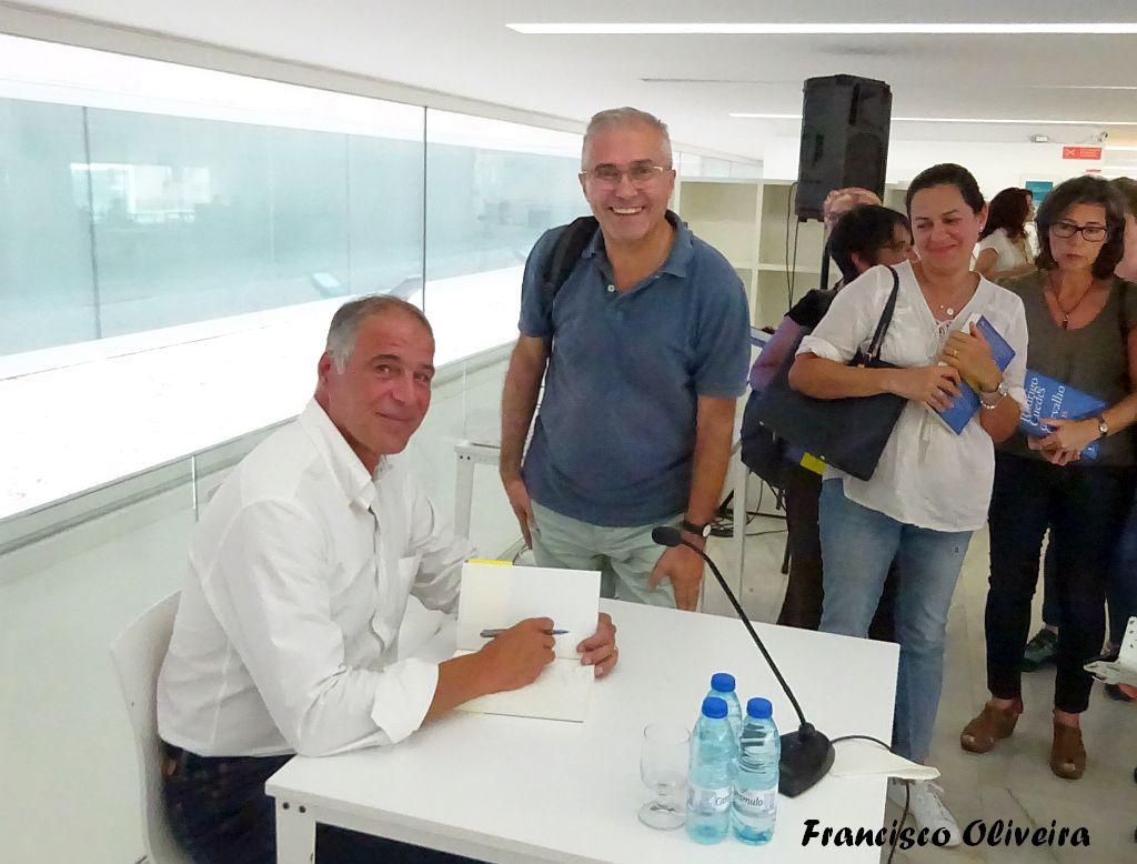 Com o Rodrigo Guedes de Carvalho em Sines