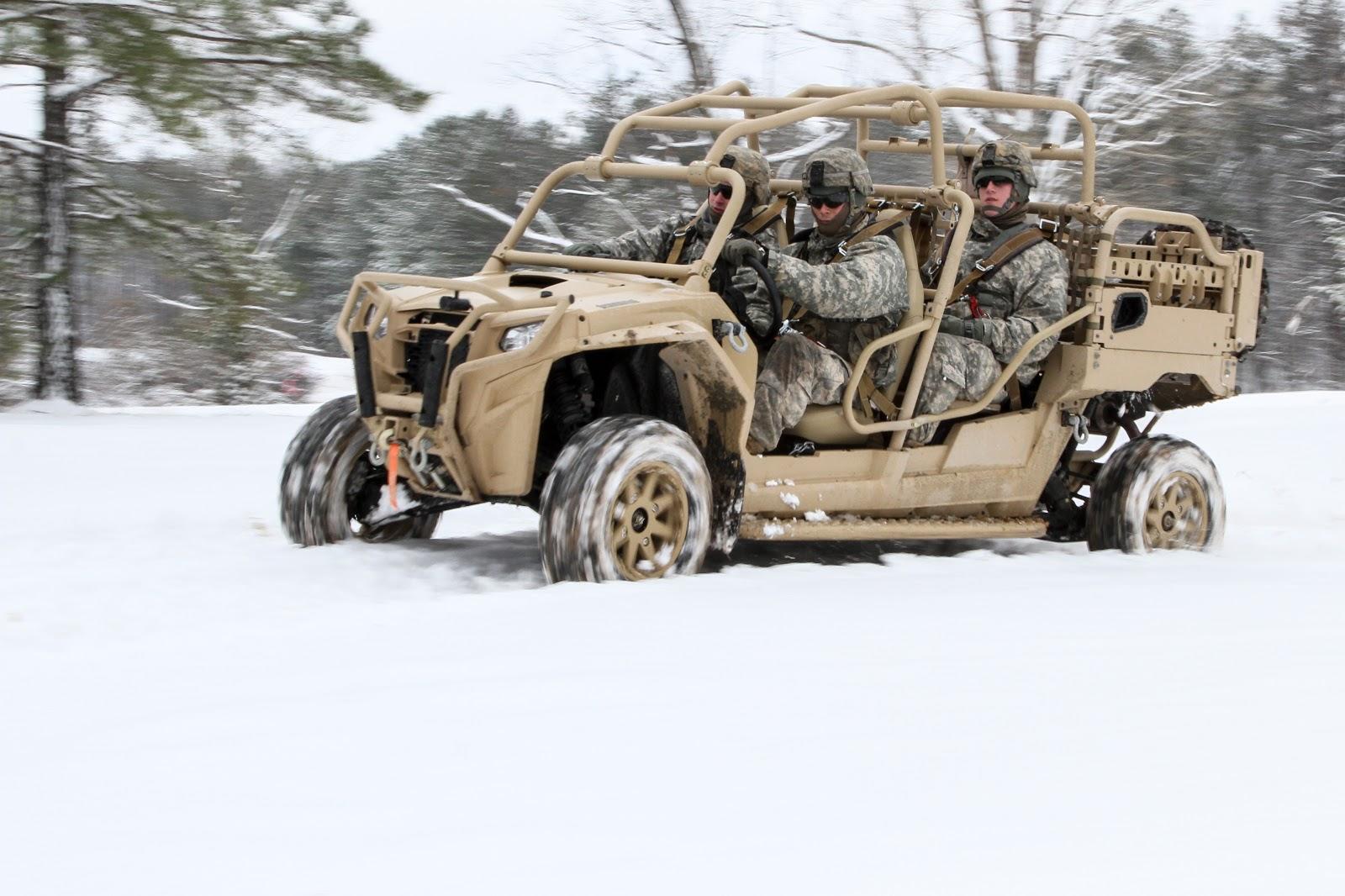 Vídeo: Veículo Polaris MRZR Tactical Warfighter