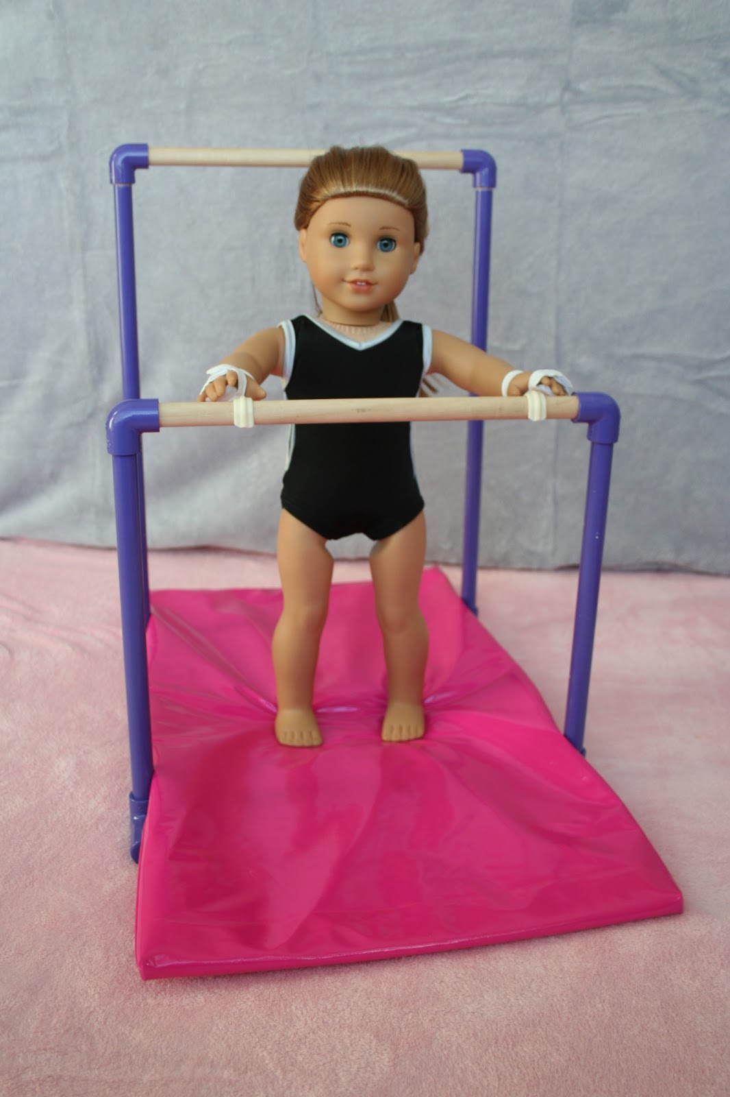 arts and crafts for your american girl doll uneven bars