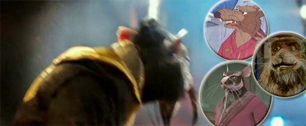 "Splinter se deja ver en el primer spot de ""Tortugas Ninjas"""