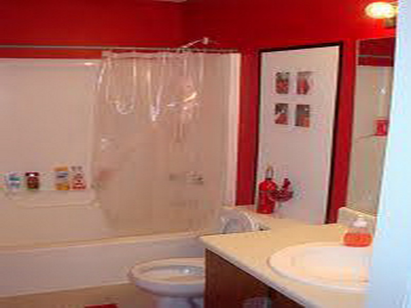 Pictures Bathrooms Painted Red bold bathroom paint ideas for small bathroom  - yonehome.blogspot