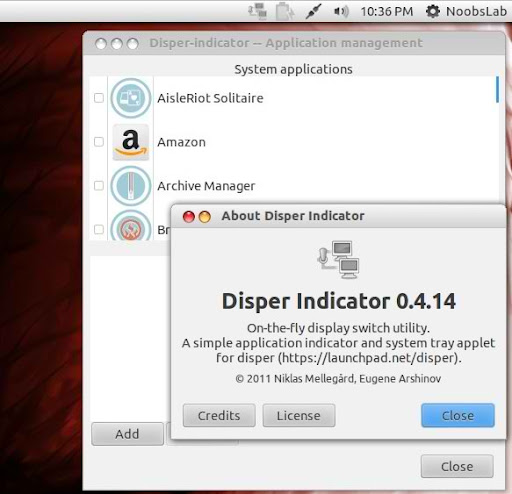 disper indicator