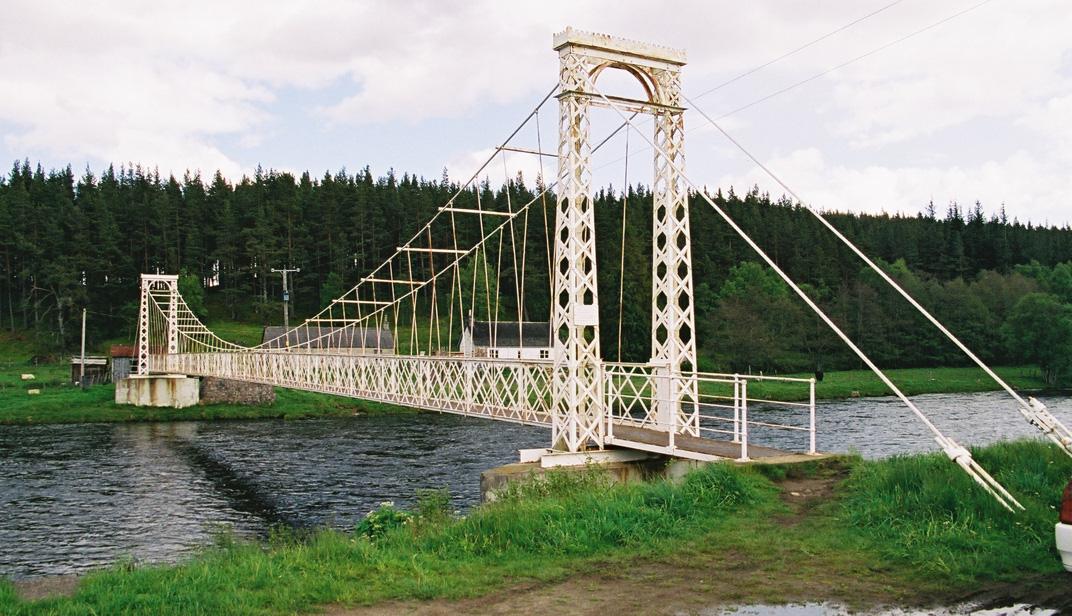 the happy pontist scottish bridges 19 polhollick suspension bridge. Black Bedroom Furniture Sets. Home Design Ideas