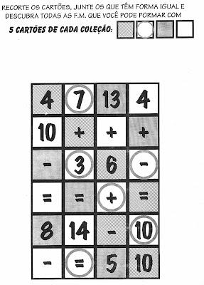 Atividades de Matemática-Anos Iniciais, anos iniciais,ensino, atividades de matemática para imprimir,atividades para imprimir