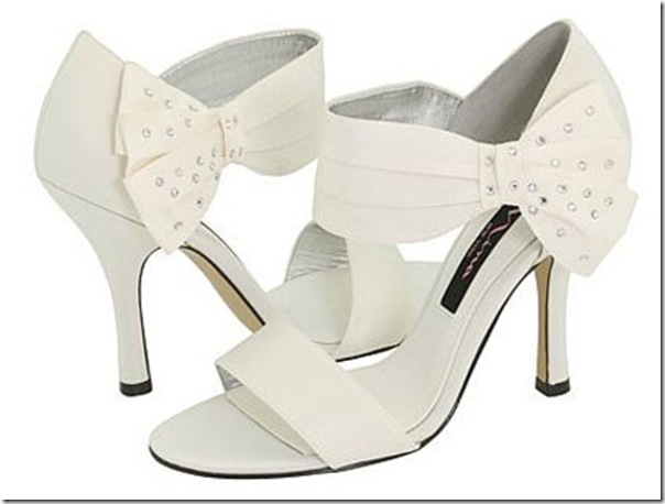 Elegant shoes for the beautiful bride