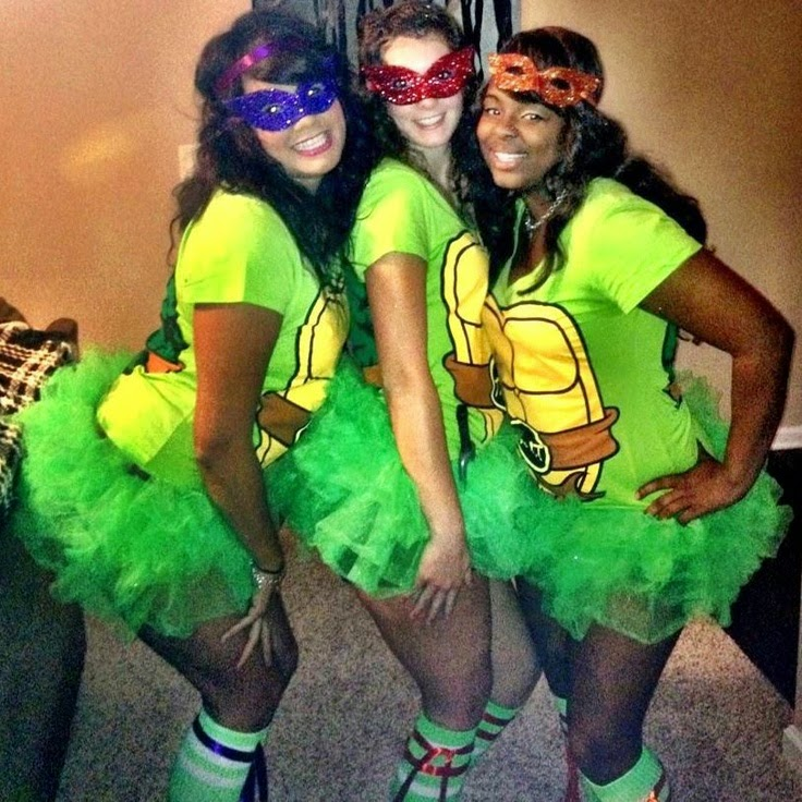 ninja turtles costume green tutu