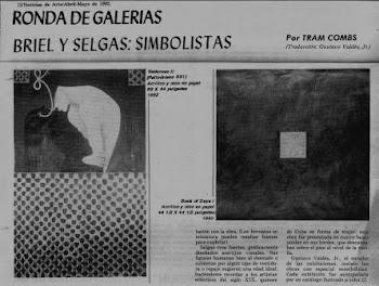 Noticias de Arte / Ronda de Galerias / New York / 1992