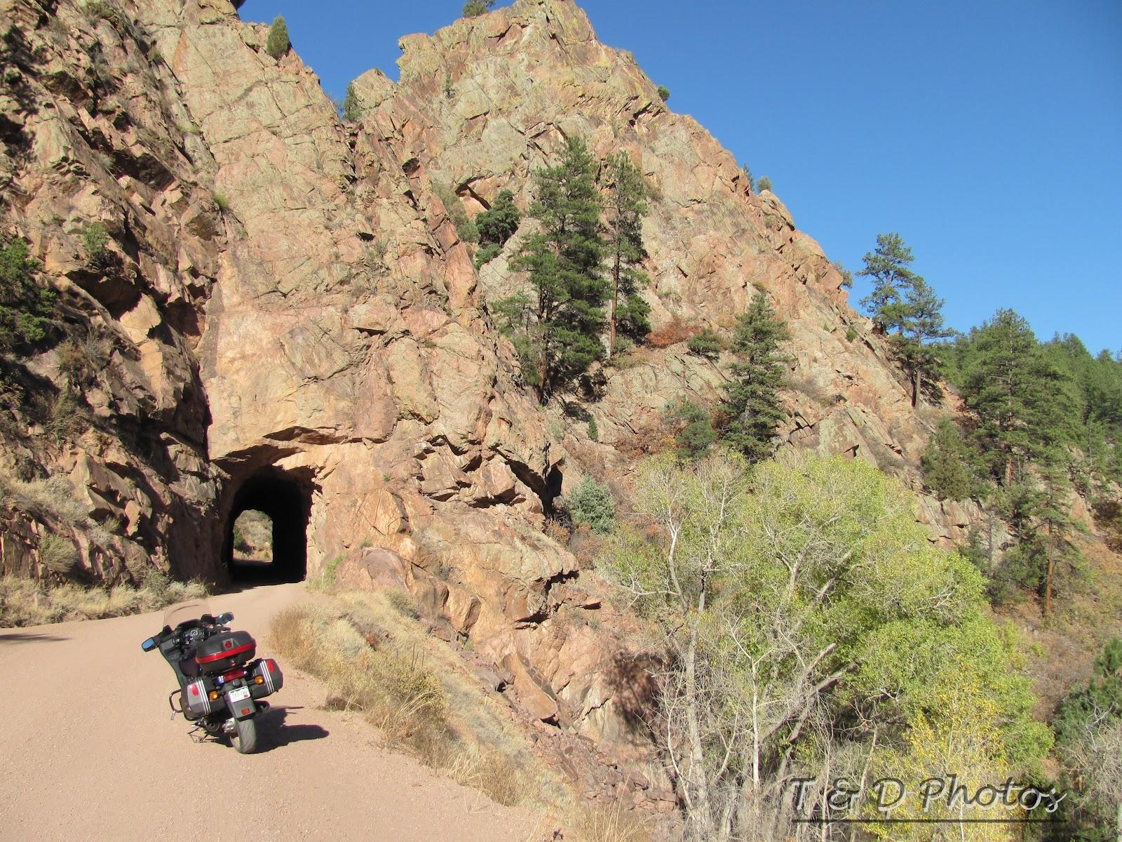 Colorado Photos Phantom Canyon Road Tunnel