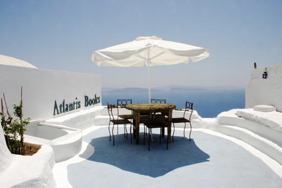 Atlantis bookshop in Santorini #Santorini #Greece #bookshop