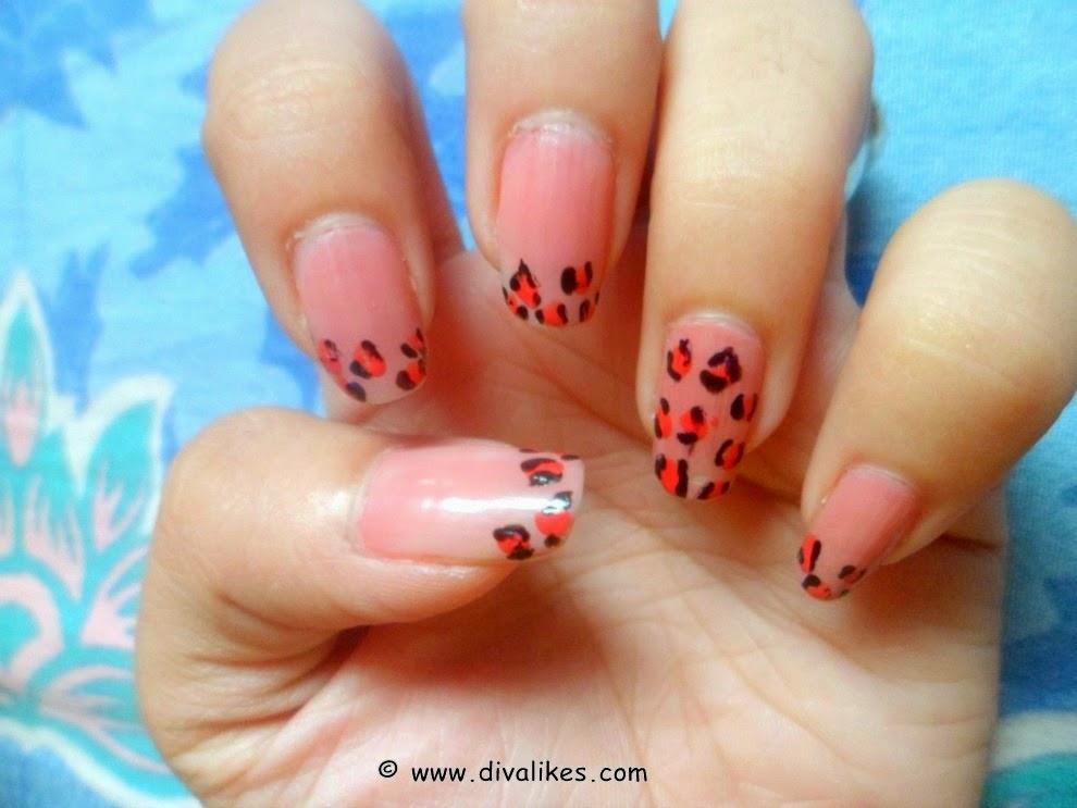 Leopard Print Nail Art Tutorial | Diva Likes