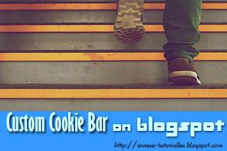 Mengubah Tampilan Cookies Bar dengan CSS