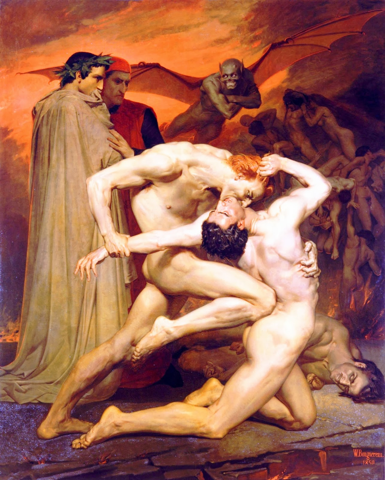 Dante and virgil in hell apologise