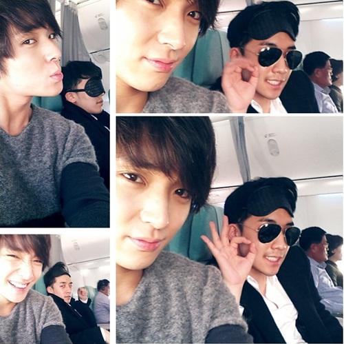 Seungri Big Bang & Jong Hun FT Island