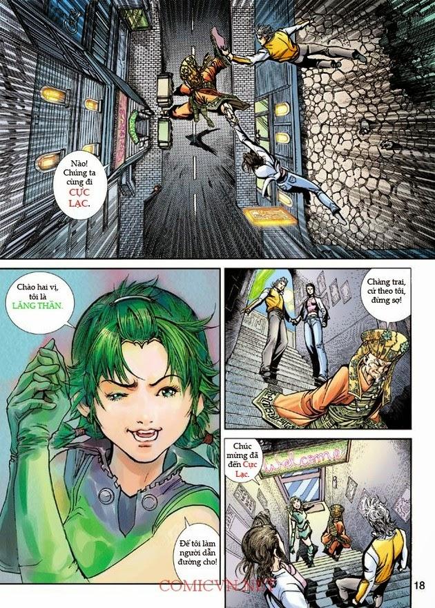 Thần Binh Khoa Huyễn Ký chap 2 - Trang 18