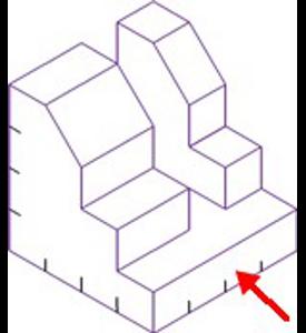 Figura 32: Sistema diédrico - obtención de vistas