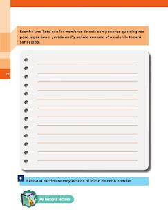 Apoyo Primaria Español 1er grado Bimestre 2 lección 16 Las rondas y los juegos tradicionales
