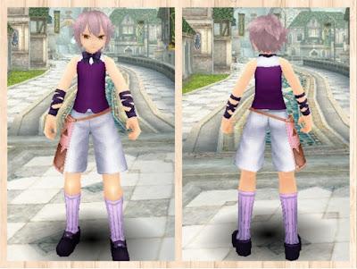 ハロウィンの衣 紫1+桃2 男