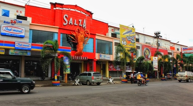 salza restoran dan convention hall pati