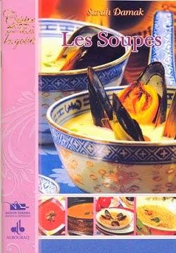 مجموعة من الكتب الخاصّة بالحساء و الشّوربة Livre+Sarah+-+Damak+Les+Soupes