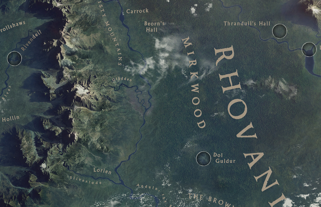 the hobbit movie blog: Google Releases 3D Interactive Map of Middle ...