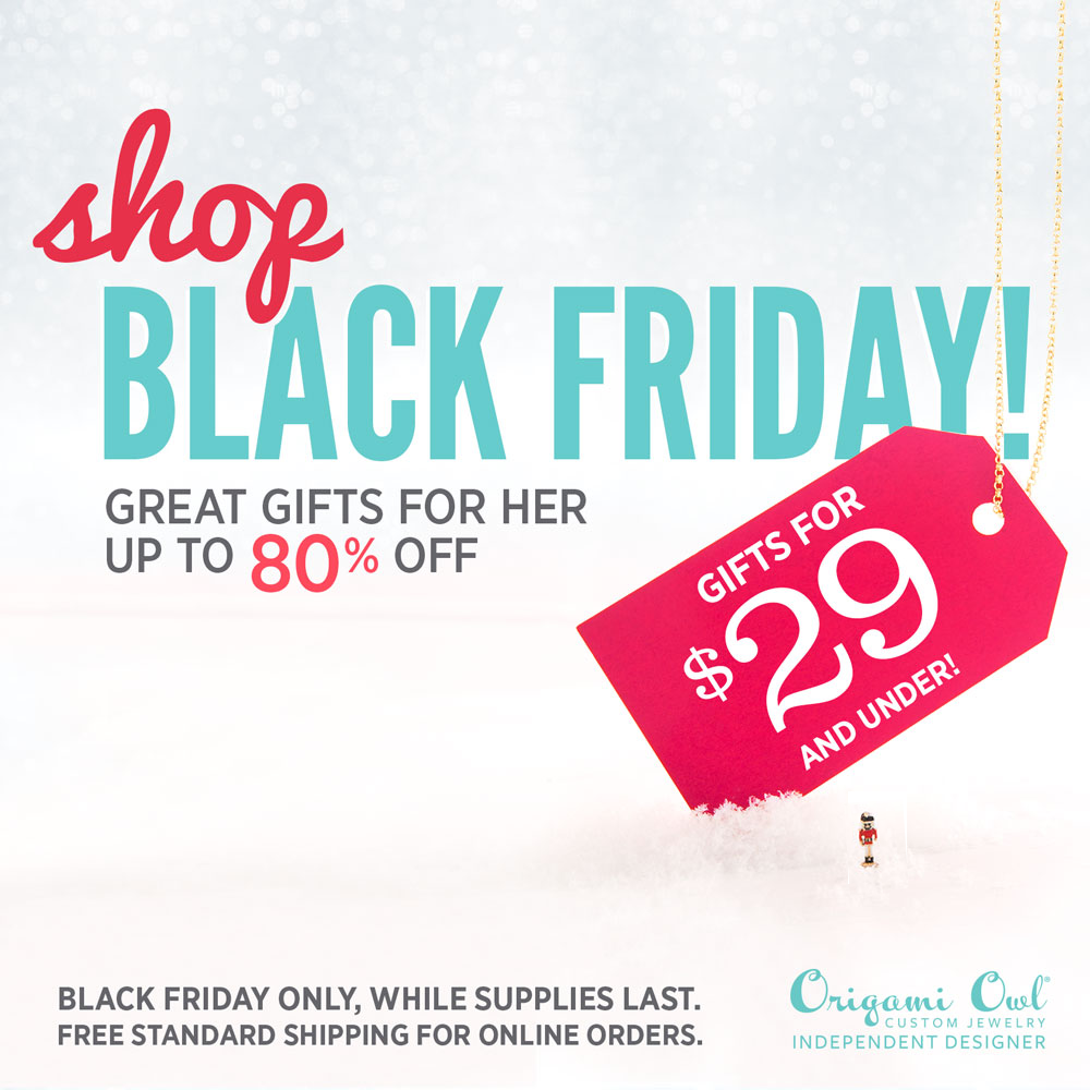 Origami Owl Black Friday: Up to 80% OFF + FREE Shipping | Shop StoriedCharms.com