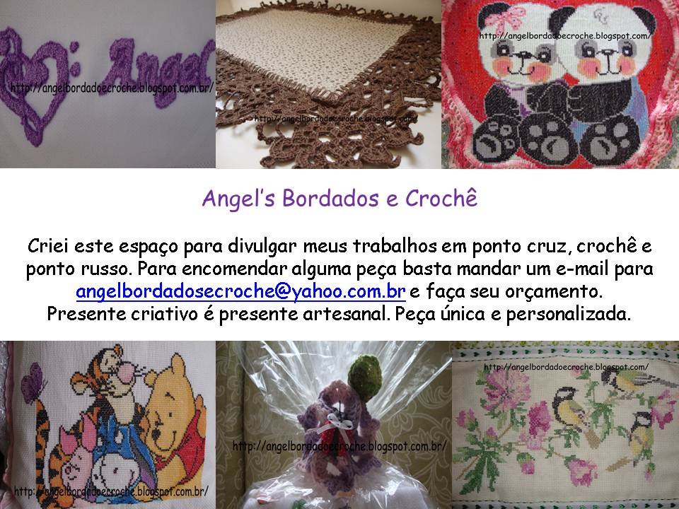 Angel's Bordados e Crochê