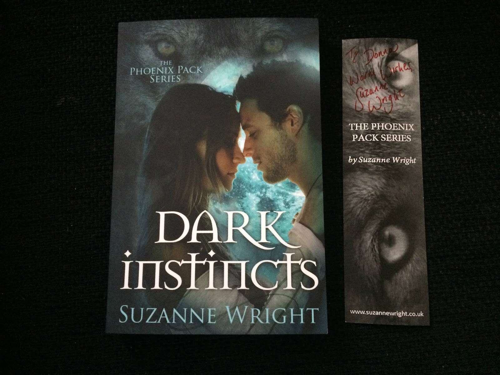 Dark Instincts (the Phoenix Pack #4) By Suzanne Wright