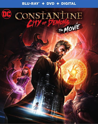 Constantine City of Demons The Movie DVDR NTSC Latino