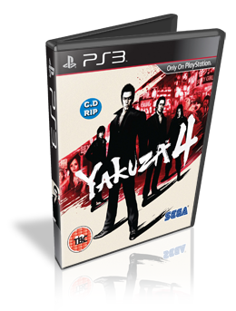 Download Yakuza 4 PS3 2011